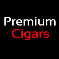 Premium Cigars Neon Sign