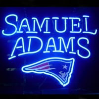 Professional  New England Patriots Samuel Adams Lager Neon Sign Neon Sign