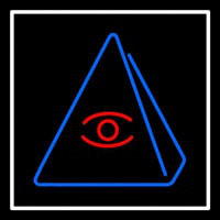 Psychic Eye Pyramid Neon Sign