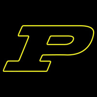 Purdue Boilermakers Alternate 1996 Pres Logo NCAA Neon Sign Neon Sign