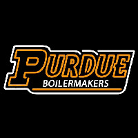 Purdue Boilermakers Wordmark 1996 Pres Logo NCAA Neon Sign Neon Sign