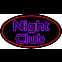 Purple Block Night Club Neon Sign