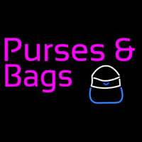 Purses Bags With Ladies Bag Neon Sign