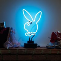 Rabbit Desktop Neon Sign