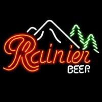Rainier Beer Bar Neon Sign