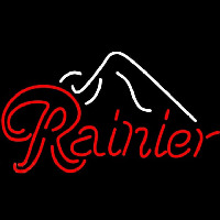Rainier Ice Mountain Beer Sign Neon Sign