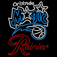 Rainier Orlando Magic NBA Beer Sign Neon Sign