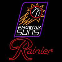 Rainier Phoenix Suns NBA Beer Sign Neon Sign