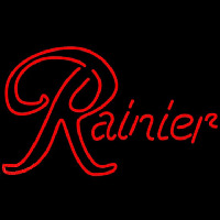 Rainier Red Beer Sign Neon Sign