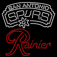 Rainier San Antonio Spurs NBA Beer Sign Neon Sign