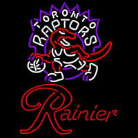 Rainier Toronto Raptors NBA Beer Sign Neon Sign