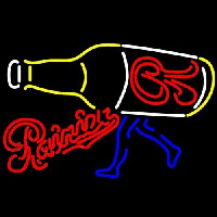 Rainier Walking R Bottle Beer Sign Neon Sign