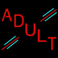 Red Adult Neon Sign