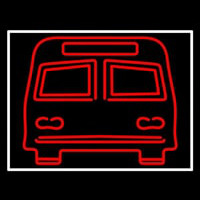 Red Bus Neon Sign