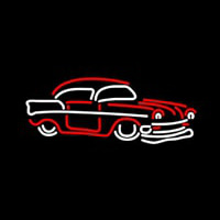 Red Car Neon Sign