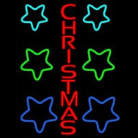Red Christmas Neon Sign