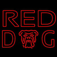 Red Dog Beer Sign Neon Sign