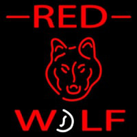 Red Dog Logo Neon Sign