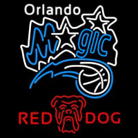 Red Dog Orlando Magic NBA Beer Sign Neon Sign