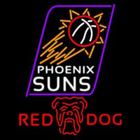 Red Dog Phoenix Suns NBA Beer Sign Neon Sign