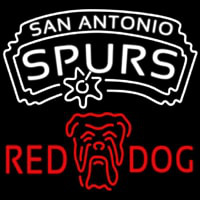 Red Dog San Antonio Spurs NBA Beer Sign Neon Sign
