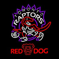 Red Dog Toronto Raptors NBA Beer Sign Neon Sign