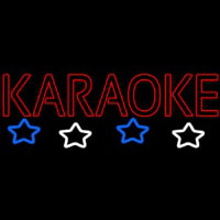 Red Karaoke Block Neon Sign