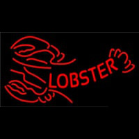 Red Lobster Logo Neon Sign