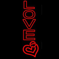 Red Love Neon Sign