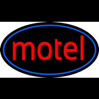 Red Motel Neon Sign