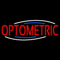 Red Optometric Neon Sign