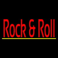 Red Rock N Roll Neon Sign
