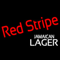 Red Stripe Jamaican Lager Logo Beer Sign Neon Sign