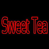 Red Sweet Tea Neon Sign