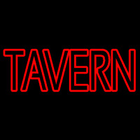 Red Tavern Neon Sign