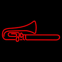Red Trumpet Sa ophone 1 Neon Sign