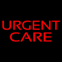 Red Urgent Care Neon Sign
