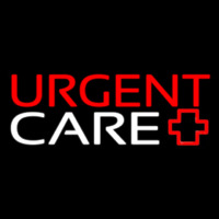 Red Urgent Care Plus Logo 1 Neon Sign