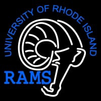 Rhode Island Rams Alternate Pres Logo NCAA Neon Sign Neon Sign