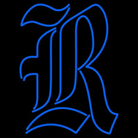 Rice Owls Primary 2010 Pres Logo NCAA Neon Sign Neon Sign