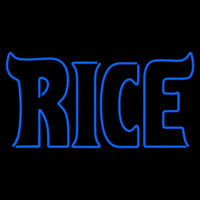 Rice Owls Wordmark 2003 2009 Logo NCAA Neon Sign Neon Sign
