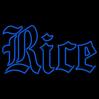 Rice Owls Wordmark 2010 Pres Logo NCAA Neon Sign Neon Sign