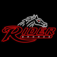 Rider Broncs Primary 2007 Pres Logo NCAA Neon Sign Neon Sign