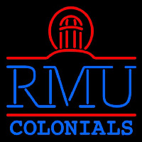 Robert Morris Colonials Primary 2002 2005 Logo NCAA Neon Sign Neon Sign