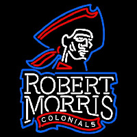Robert Morris Colonials Primary 2006 Pres Logo NCAA Neon Sign Neon Sign