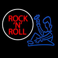 Rock N Roll Dj Neon Sign