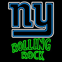 Rolling Rock Adams New York Giants NFL Neon Beer Sign Neon Sign
