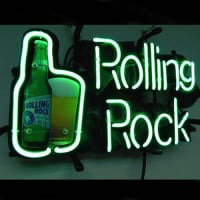 Rolling Rock Neon Sign