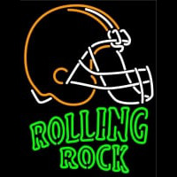 Rolling Rock Cleveland Browns NFL Neon Beer Sign Neon Sign
