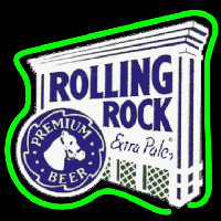 Rolling Rock E tra Pale Premium Beer Sign Neon Sign
